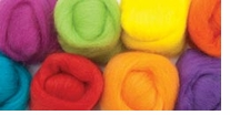 Wool Roving 12in .25 Ounce Fiesta