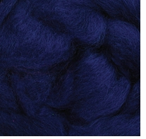 Wool Roving 12in Package .25oz Blue