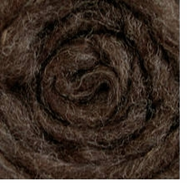 Wool Roving 12in Package .25oz Dark Gray