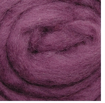 Wool Roving 12in Package .25oz Lilac Haze