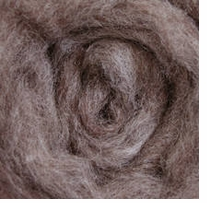Wool Roving 12in Package .25oz Medium Gray