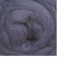 Wool Roving 12in Package .25oz Periwinkle