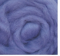 Wool Roving 12in Package .25oz Sky Blue