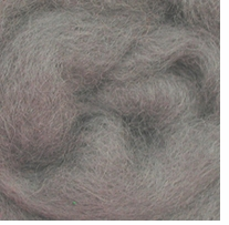 Wool Roving 12in Package .25oz Smoke