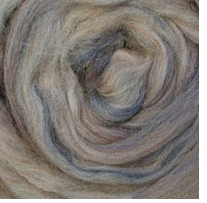 Wool Roving .25oz Agate Variegated