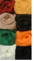 Wool Roving Assortment Naturals