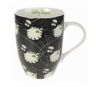 Wooley Jumper Black Tulip Mug