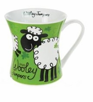 Wooley Jumper Concave Mug