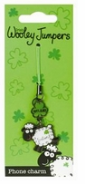 Wooley Jumper Metal Phone Charm