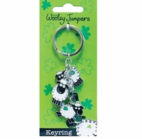 Woolley Jumper Charm Key Ring