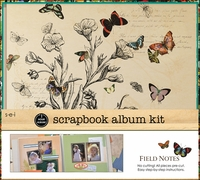 "1 Hour Album Scrapbook Kit 12""x12"" - Field Notes"