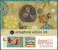 "1 Hour Album Scrapbook Kit 8""x8"" - Desert Spring"