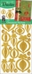 3D Dazzles Stickers - Gold Christmas Ornaments