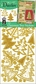 3D Dazzles Stickers - Gold Christmas Trees