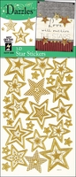 3D Dazzles Stickers - Gold Stars