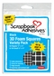 3D Foam Squares - Assortment/Black