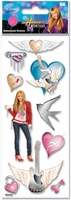 A Touch of Disney Dimensional Stickers - Hannah Montana