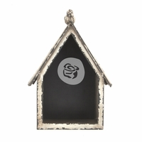Altered Metal Frame - Bird House