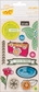 Amy Tangerine Sketchbook Remarks Fabric Stickers - Paint