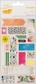 Amy Tangerine Sketchbook Remarks Fabric Stickers - Pigment