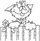 Art Gone Wild Mounted Rubber Stamps - Butterly Pup