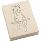 Art Gone Wild Mounted Rubber Stamps - Inkster