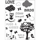 Art Warehouse Clear Stamps - Whoo Loves You?