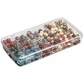 "ArtBin Prism Box 18 Compartments - 8.875""x4.875""x1.325"" Transparent"