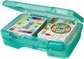 "ArtBin Quick View Carrying Case - 12""x10"" Translucent Teal"