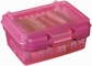 "ArtBin Quick View Carrying Case - 7""x10"" Translucent Raspberry"