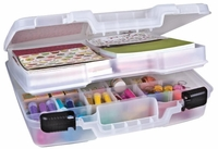 ArtBin Quick View Deep Base Carrying Case w/Lift-Out Tray