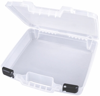 "ArtBin Quickview Carrying Case Translucent - 15""x13""x3.5"""