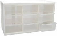ArtBin Store-In-Drawer Cabinet w/9 Transparent Drawers