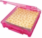 ArtBin Super Satchel - Single Compartment/Translucent Raspberry