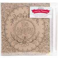 "ArtPlay Kraft 3-Ring Binder Planner 8""x10"" - Be Happy"