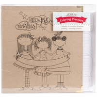 "ArtPlay Kraft 3-Ring Binder Planner 8""x10"" - Calendar Girls"
