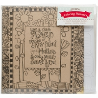 "ArtPlay Kraft 3-Ring Binder Planner 8""x10"" - Documented Faith"