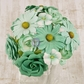 "Audrey Mulberry Paper Flowers .75"" to 1.5"" - 71597"