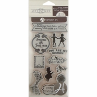 Authentique Cling Stamp - Footloose
