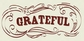 Authentique Paper Grateful
