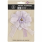 "Avalon Fabric Flower Bow 4"" - Sugar Plum"