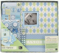 Baby Albums, Scrapbooks & Page Kits