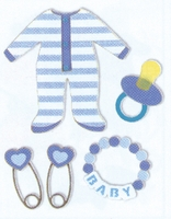 Baby Themed Embellishments