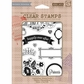 Basic Grey Knee Highs & Bow Ties Clear Stamps By Hero Arts - Knee Highs Once Upon A Time