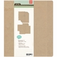 "Basics Kraft Ring Binder 7""x9"""