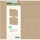 "Basics Kraft Ring Binder 8""x8"""