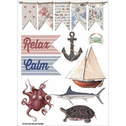 Beach Affair Vinyl Stickers - Pictures - Click to enlarge