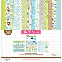 "Bella Blvd Collection Kit 12""x12"" - Cute Baby Boy"