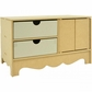 Beyond The Page MDF 2-Door Buffet Storage w/2 Drawers