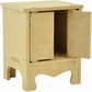 "Beyond The Page MDF 2-Door Mini Cupboard - 5""x4.25""x6.25"""